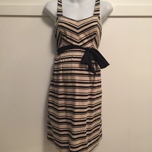 ❤️Striped sleeveless maternity dress size small❤️